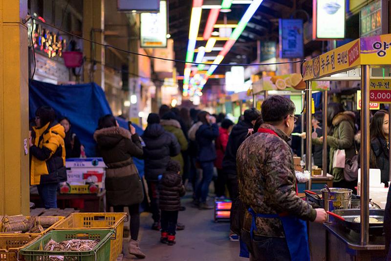 غذا های خیابانی جئونجو