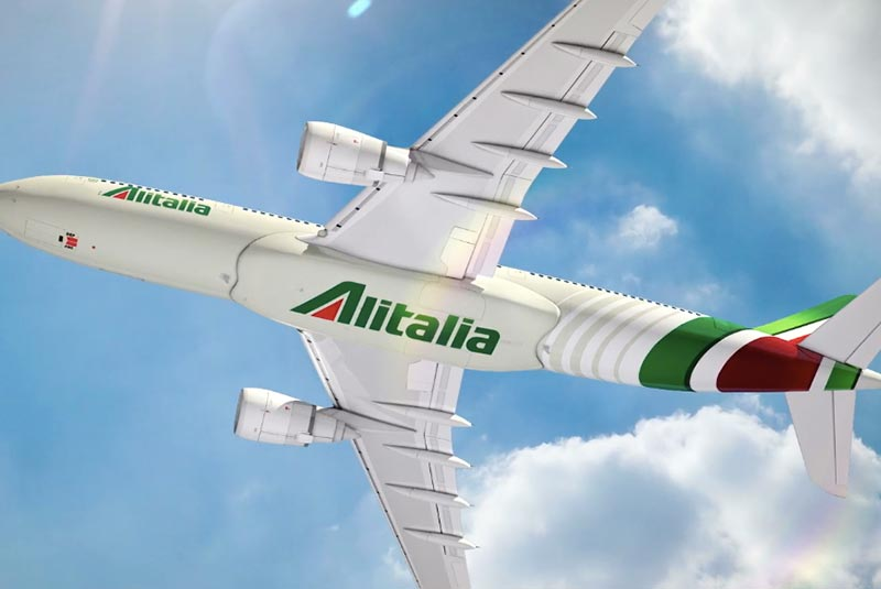 درباره هواپیمایی آلیتالیا