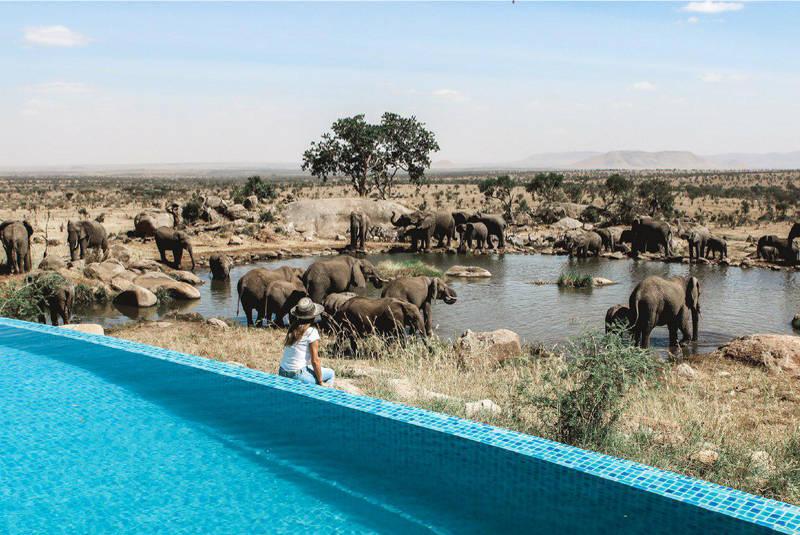 استخر حیرت انگیز تانزانیا