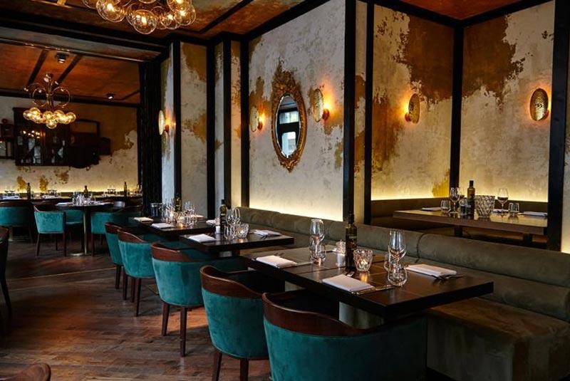 رستوران ایتالیایی در لندن