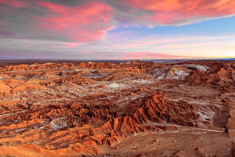 صحرای آتاکاما شیلی