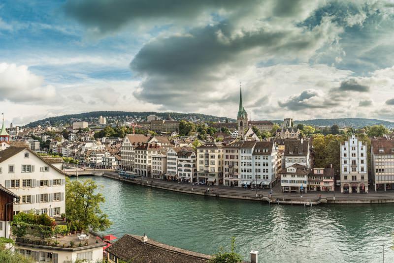 محله قدیمی زوریخ سوئیس