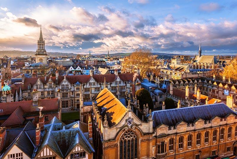 شهر آکسفورد در انگلیس