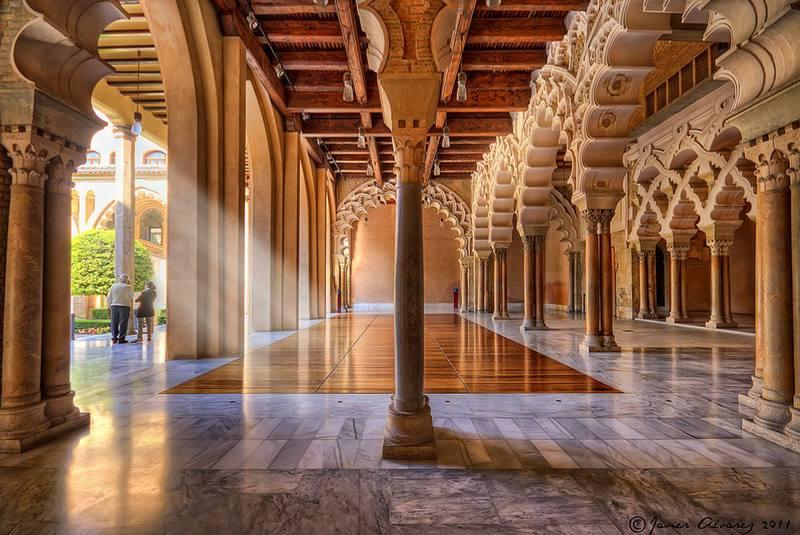 قصر الجعفریه زاراگوزا اسپانیا