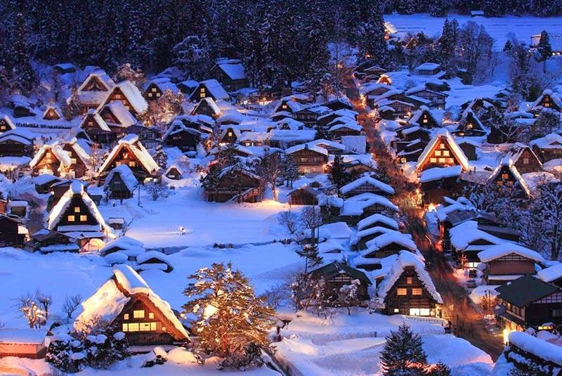 روستاهای دیدنی و خوش عکس