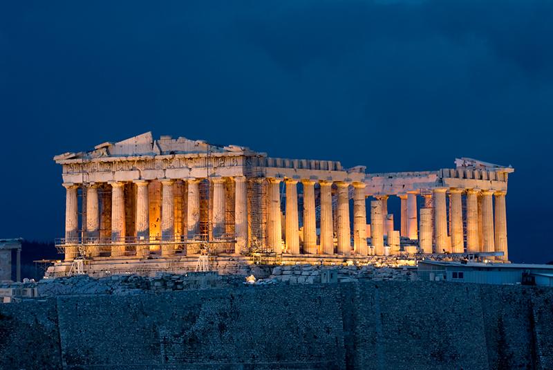 آکروپلیس آتن - معماری کلاسیک