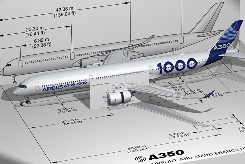 هواپیمای ایرباس a350