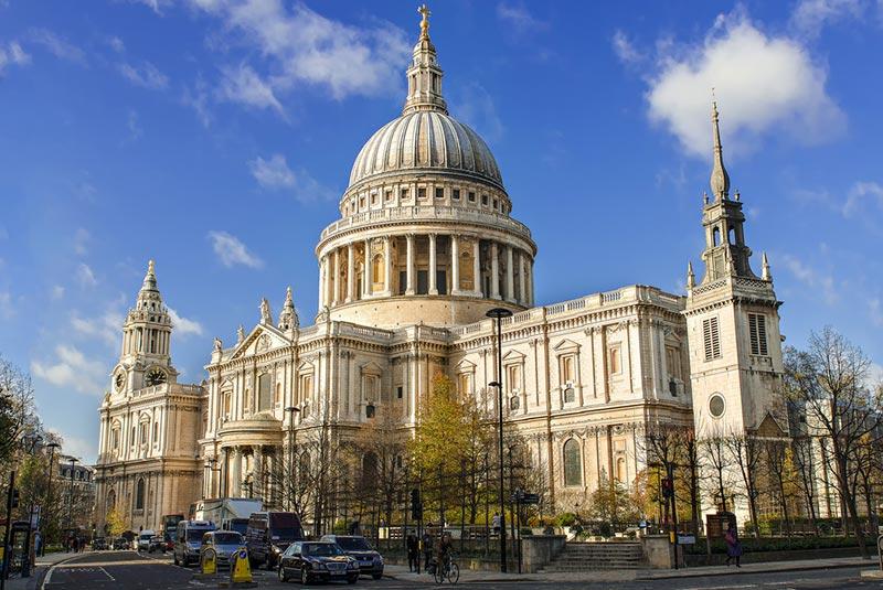 زیباترین کلیساهای لندن