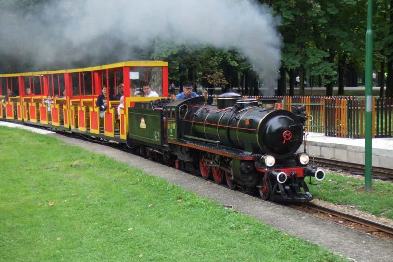 قطار بخار پراتر وین