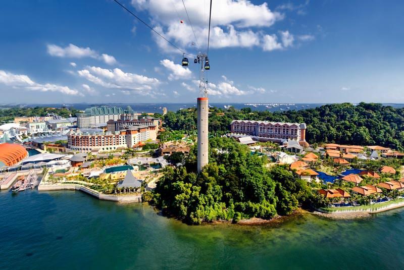 جزیره سنتوزای سنگاپور