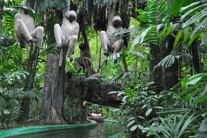 گشت در جنگل سافاری ورلد بانکوک