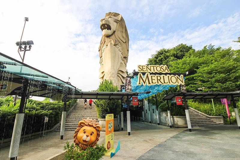 مجسمه مرلیون سنگاپور