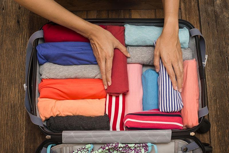 چطور چمدان ببندیم