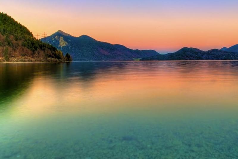 دریاچهی والشن آلمان