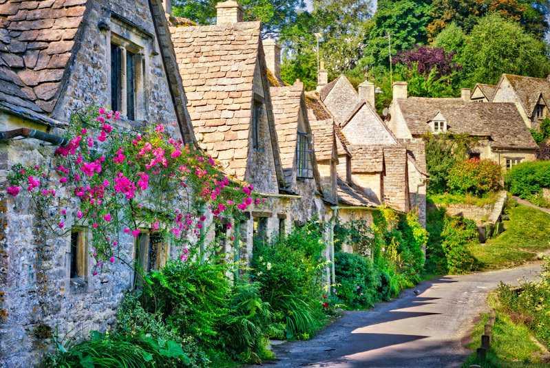 روستای بایبری انگلستان