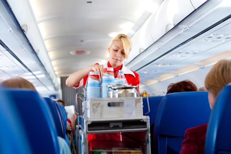 مراقیت از پوست در پرواز - هواپیما