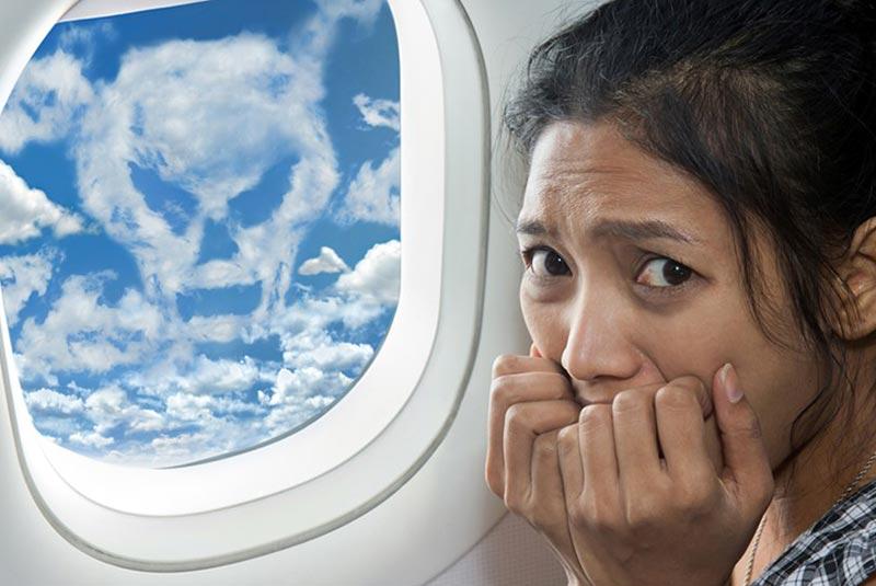دلایل ترس از پرواز