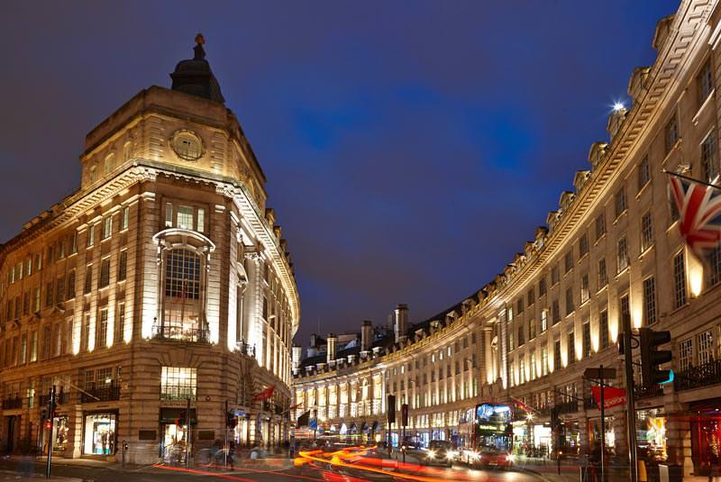 خیابان ریجنت لندن