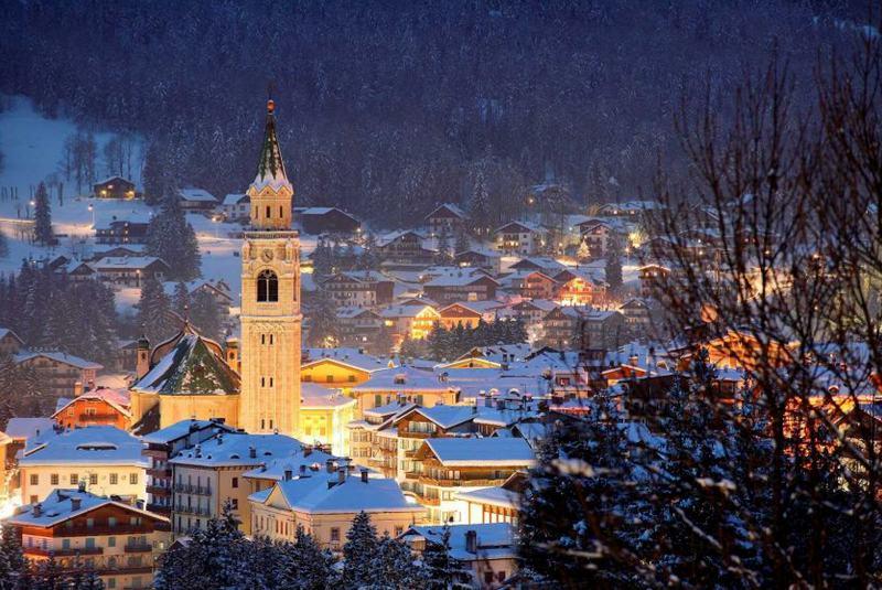 پیست اسکی کورتینا ایتالیا