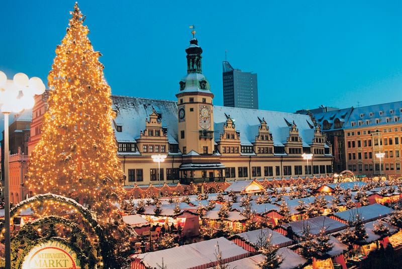 کریسمس لایپزیگ آلمان