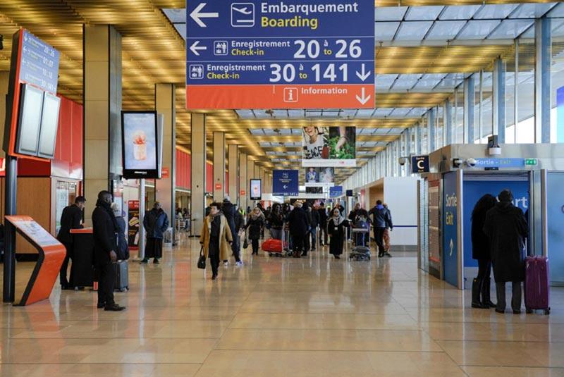 فرودگاه های فرانسه