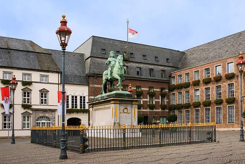 محله قدیمی دوسلدورف