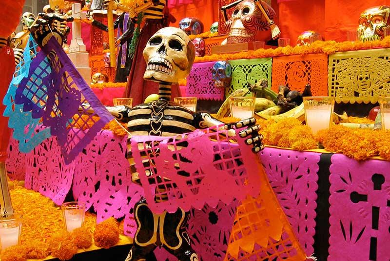 روز مردگان در مکزیک