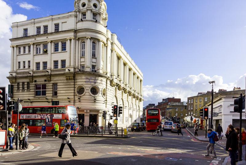 محله کینگز کراس در لندن