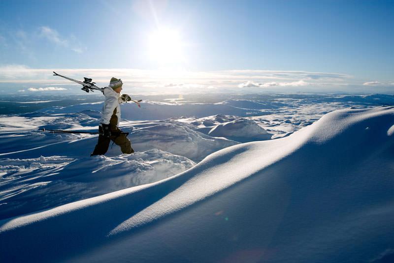 کوه های سوئد