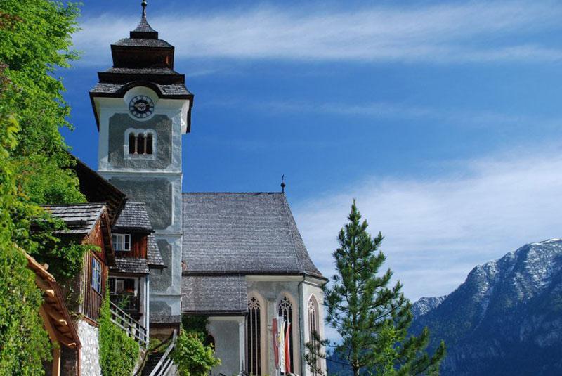 کلیسای عروج در هال اشتات