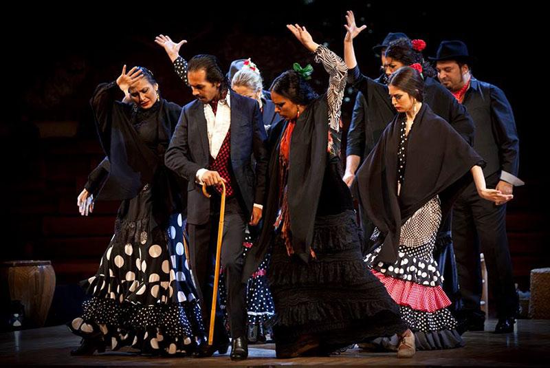 نمایش فلامنکو در گرانادا