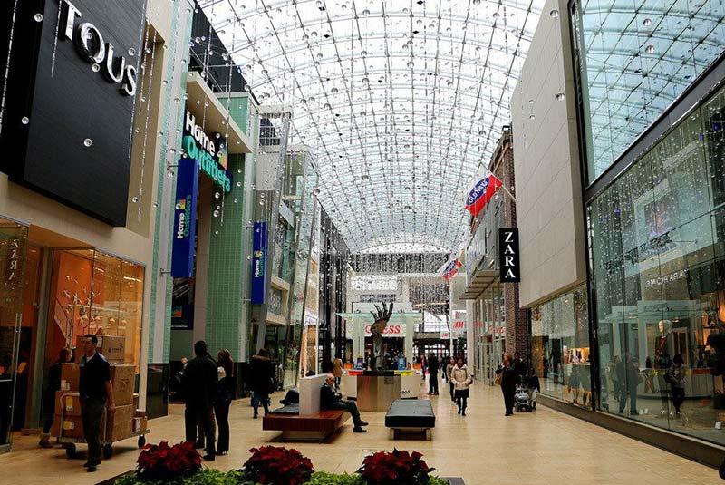 بهترین مراکز خرید تورنتو