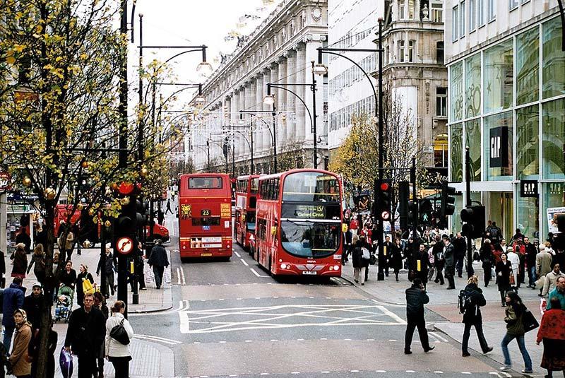 خیابان آکسفورد در لندن