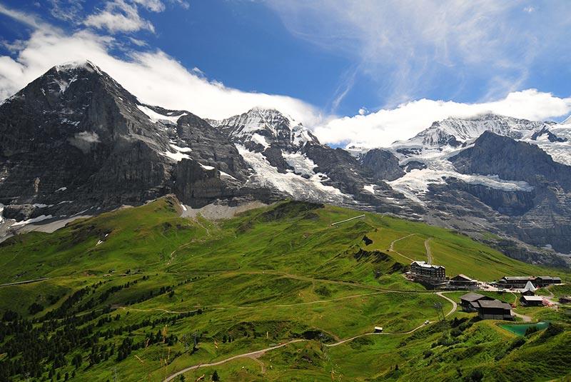 یونگفرو در سوئیس