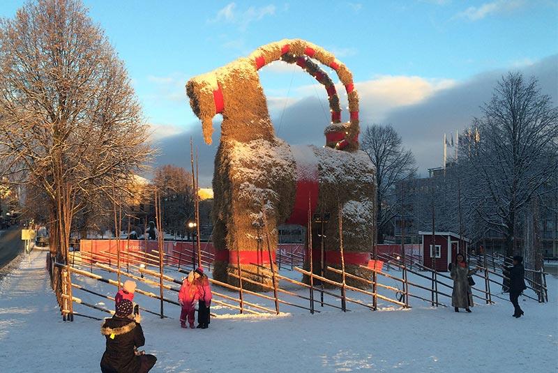 آداب و رسوم کریسمس در سوئد