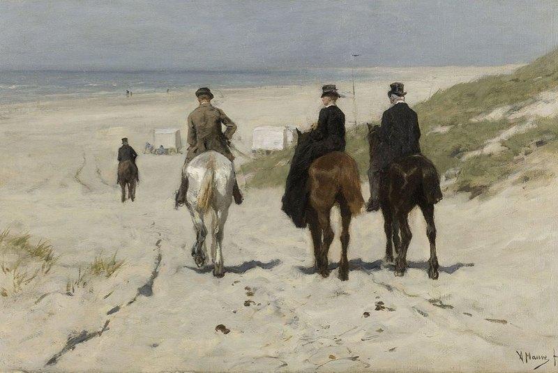 آنتون ماوه موزه ملی آمستردام