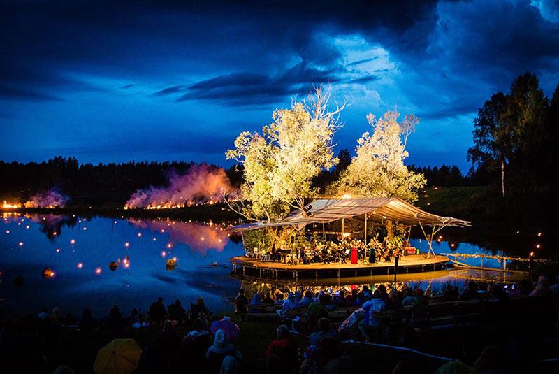 فستیوال موسیقی دریاچه لیگو