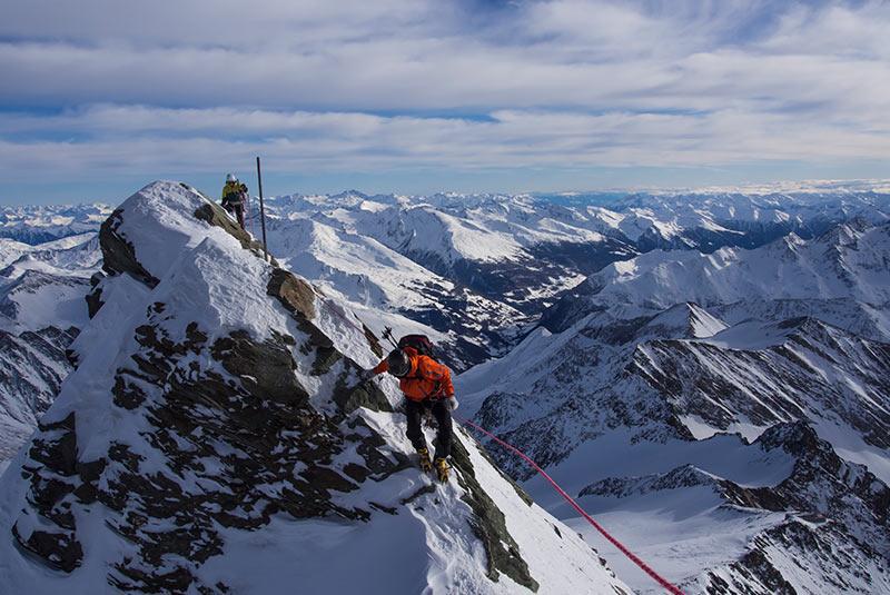 کوه گروسگلوکنر در اتریش