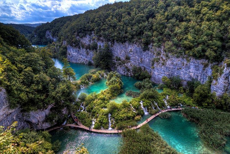 پارک پلیتیوچ در کرواسی
