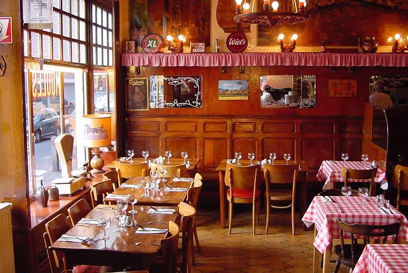 رستوران لیدیو دو ویلژ در بلژیک