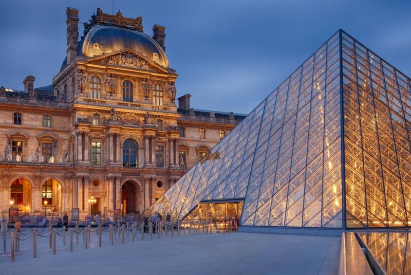 موزه ی لوور پاریس