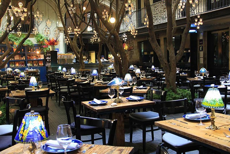 رستوران آزول هیستوریکو در مکزیکوسیتی