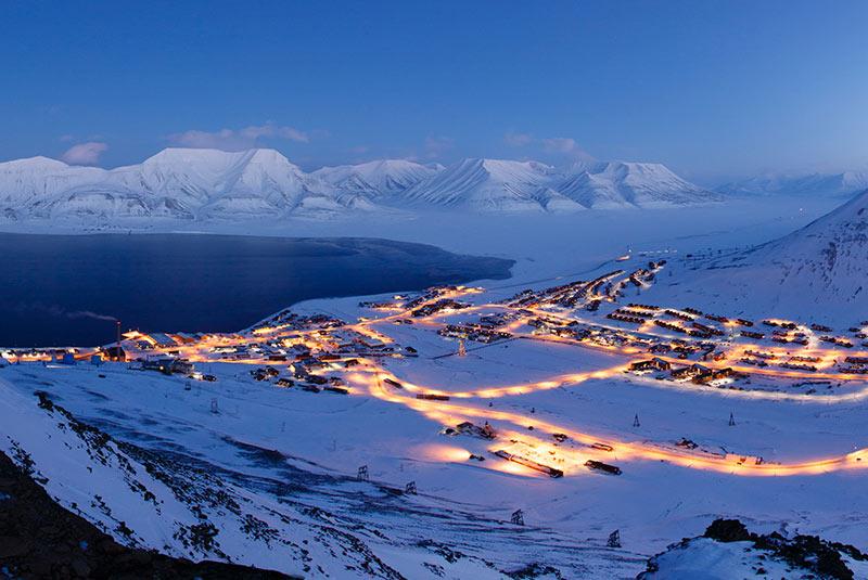 لانگیربین در نروژ
