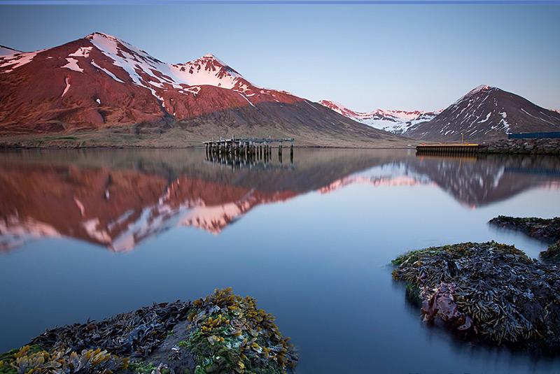 فلات ترولاسکاگی در ایسلند