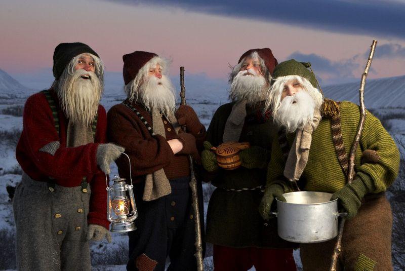 آداب و رسوم کریسمس در ایسلند