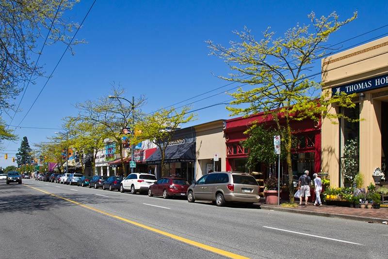 مراکز خرید ونکوور