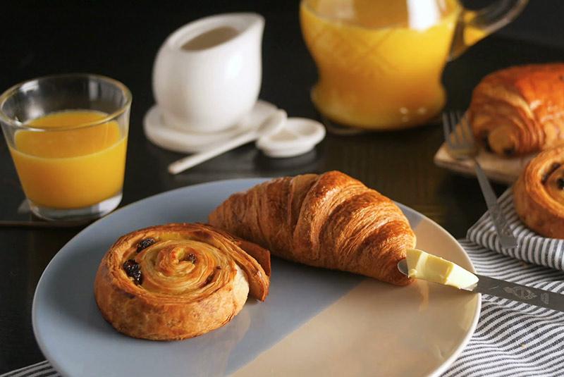 صبحانه فرانسوی در بوردو