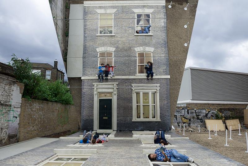 اثر لئوناردو در محله دالستون در لندن