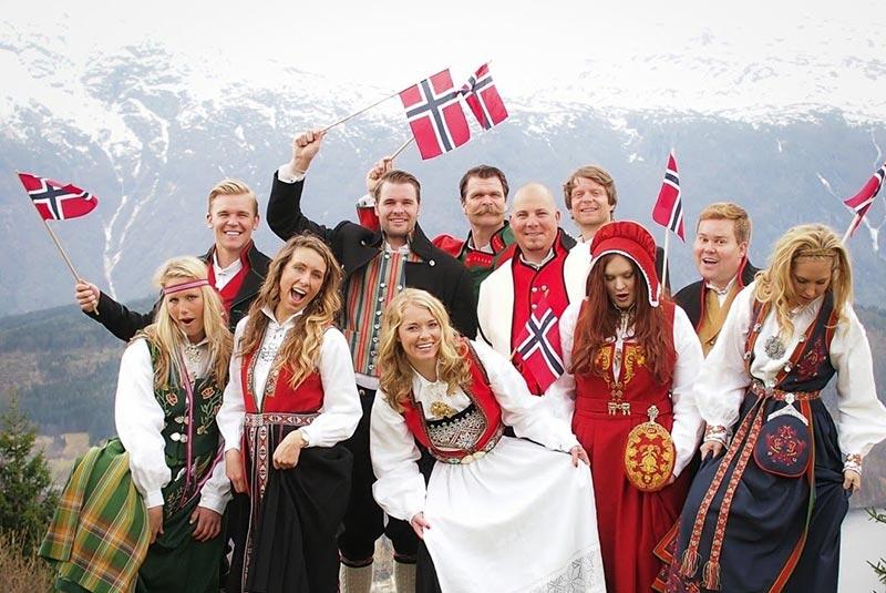 آداب و رسوم نروژ