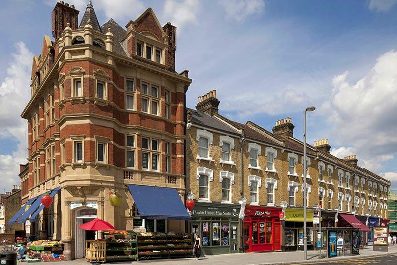 محله والتامستو در لندن